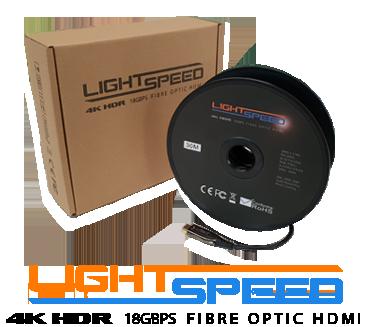 Lightspeed Fibre Optic HDMI Cables