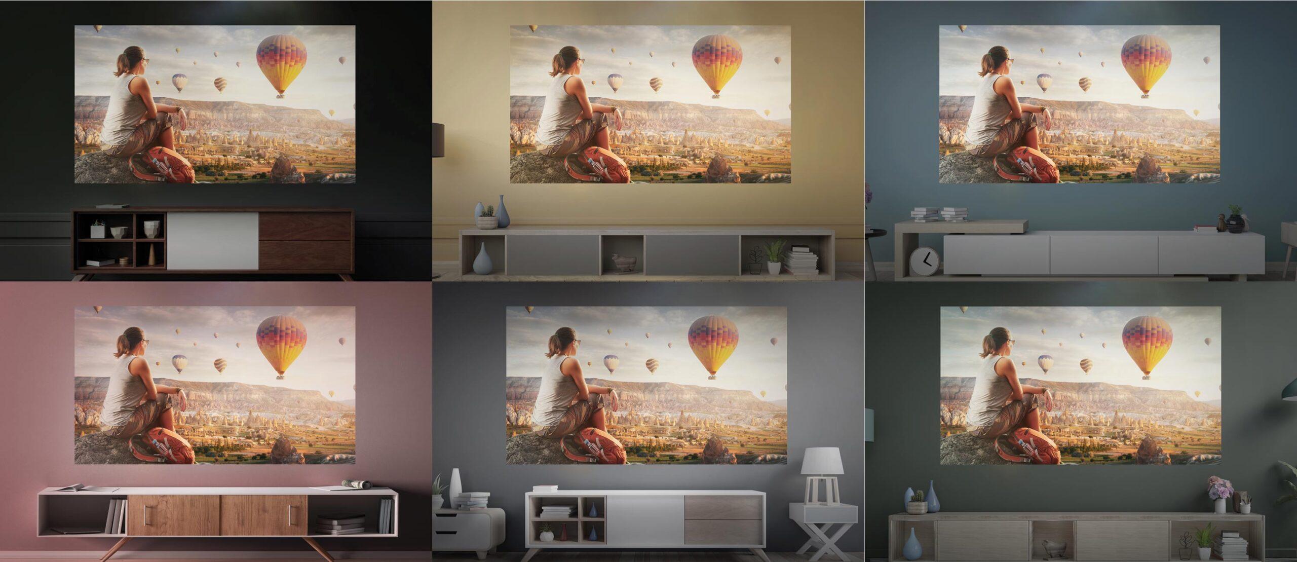 Wall Colour Adjustment