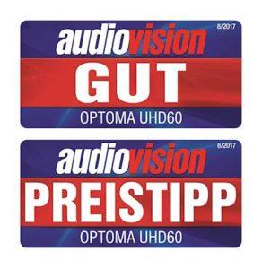 Optoma 4K UHD60 Home Cinema Award Wining Projector
