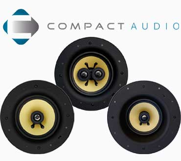 Compact Audio Multiroom and cinema speakers