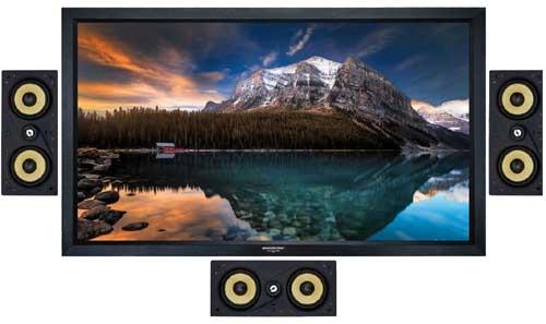 Compact Audio Fidelity W5LCR LCR Inwall Speaker