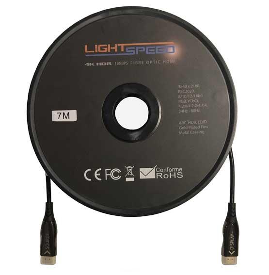 Lightspeed - Fibre Optic HDMI Cables