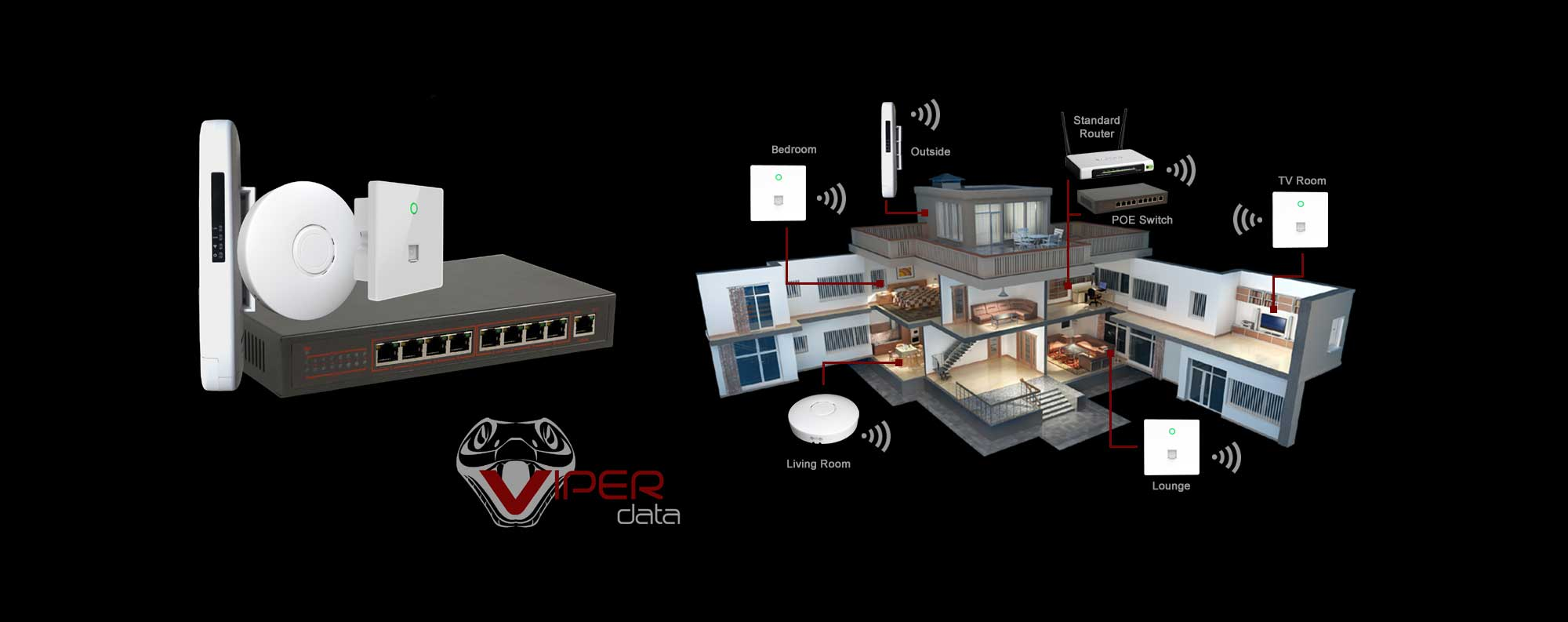 Viper Data - In-wall access points