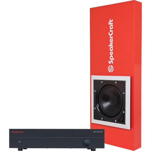 Speakercraft Sub with Enclosure and amp