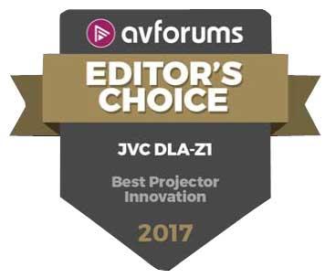 JVC DLA-Z1 Award
