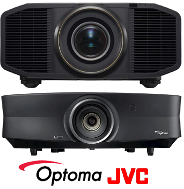 Optoma and JVC Home Cinema Projectors