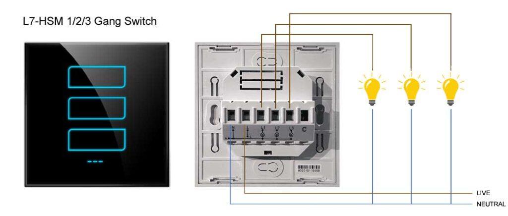 Phase L7-HSM Smart Switch