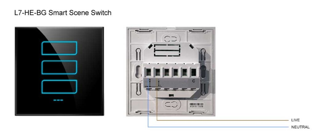 Phase L7-HE Smart Scene Switch