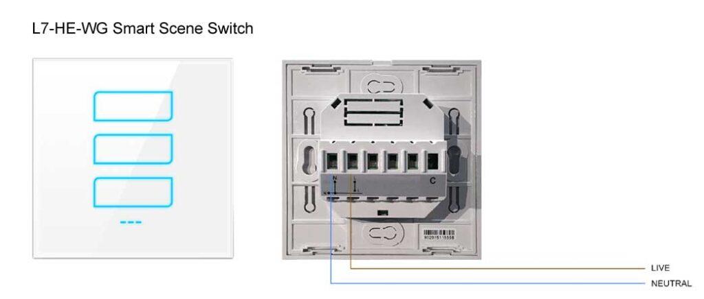 Phase L7-HE Smart Scene Switch